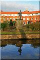SJ8746 : Statue of James Brindley at Etruria by Chris Allen