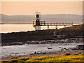 ST4677 : Portishead Point Lighthouse by David Dixon