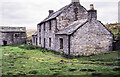 NY7845 : Farmhouse at Roughside in September 1989 - 2 by Trevor Littlewood