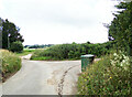 TL8738 : Sheepcote Farm Lane, Great Henny by Geographer
