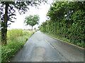 TM0235 : B1068 Thorington Street at Higham by Geographer