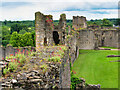 NZ1700 : Richmond Castle, Curtain Wall and Towers by David Dixon