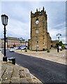 NZ1700 : Tower of Holy Trinity Church, Richmond by David Dixon