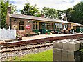 SE3091 : Wensleydale Railway, Scruton Station by David Dixon