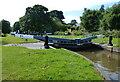 SJ5559 : Beeston Iron Lock along the Shropshire Union Canal by Mat Fascione