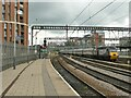 SE2933 : Tracks west from Leeds (4) - Cross Country HST by Stephen Craven