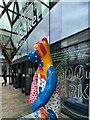 SK3586 : 'Sheffield Folk' goes shopping by Graham Hogg