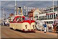 SD3033 : Open Boat Tram, Blackpool Promenade by David Dixon