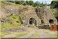 SO2409 : Blast furnaces at Blaenavon Ironworks by Philip Halling
