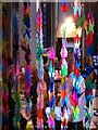 SP3379 : Paper Cranes, Chapel of Unity, Coventry Cathedral by Alan Paxton
