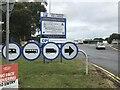 NY4345 : Lorry Park, Southwaite Services by David Dixon