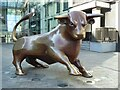 SP0786 : Bull sculpture in the Bull Ring by Philip Halling