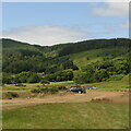NM5341 : Killiechronan camp site by Richard Webb