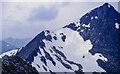 NN1771 : Carn Mòr Dearg Arete rising for summit of Ben Nevis by Trevor Littlewood