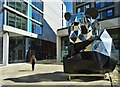SK3586 : Giant panda in New Era Square by Neil Theasby