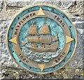 SX8751 : Dartmouth - Mayflower Trail 1620-2020 by Colin Smith