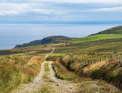 C6644 : Looking towards Inishowen Head and Northern Ireland in the distance by Patrick Mackie