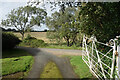 SZ5381 : Gate at Godshill Park House by Des Blenkinsopp