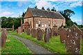 NY0269 : Caerlaverock Parish Church and Churchyard by David Dixon