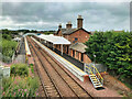 NY1966 : Annan Railway Station by David Dixon
