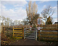 NH5559 : Pedestrian level crossing, Dingwall by Craig Wallace