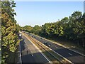 SP2867 : A46 near Loes Farm, Guy's Cliffe, Warwick by Robin Stott