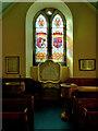NY1068 : Murray Aisle, Ruthwell Church by David Dixon