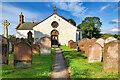 NY1068 : Ruthwell Church (eastern side) by David Dixon