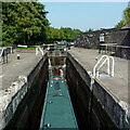 SJ8746 : Stoke Top Lock in Etruria, Stoke-on-Trent by Roger  Kidd