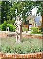 SZ5692 : Madonna & Child, Quarr Abbey by Des Blenkinsopp