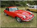 TF1207 : Jaguar E-Type 4.2 at the Maxey Classic Car Show - August 2021 by Paul Bryan