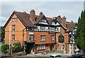 SU2908 : Lyndhurst - The Crown hotel by Rob Farrow