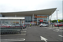 NT2274 : Sainsbury's Supermarket by Anne Burgess