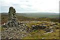 ND3042 : Cairns of Warehouse, at Yarrows, Caithness by Andrew Tryon