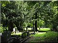 NZ2643 : Gravestones at St. Cuthbert's Church Graveyard by Trevor Littlewood