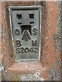 SP8909 : Bench Mark on Triangulation Pillar at Aston Hill by David Hillas