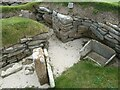 HY2318 : Skara Brae - Dwelling No.3 by Rob Farrow