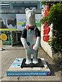 SK3587 : Bears of Sheffield: #13 Polar Painter by Graham Hogg