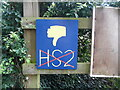 SP8903 : Anti HS2 Boards at Hunt's Green (2) by David Hillas