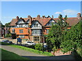 SU2908 : Steps to the High Street, Lyndhurst by Malc McDonald