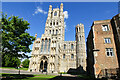 TL5480 : The West Front of Ely Cathedral by Jeff Buck