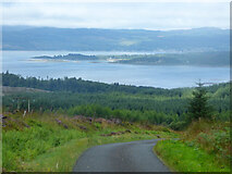 NR9583 : Loch Fyne from Otter Hill Road by Thomas Nugent