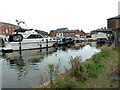 SO8553 : Worcester and Birmingham Canal - Diglis Basin by Chris Allen
