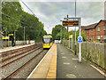 SD8104 : Tram at Prestwich Metrolink Station by David Dixon