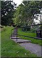NT9928 : Steps up Tower Hill, Church Street, Wooler by habiloid
