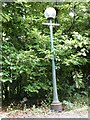 NY2723 : Old lamp standard by Oliver Dixon