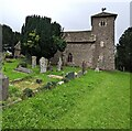 SO4110 : St Mary's Church, Tregare, Monmouthshire by Jaggery