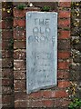 SO3164 : The Old Grove house name sign, Ford Street, Stapleton, Herefs by P L Chadwick