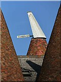 TQ6248 : Cowl at Faulkners Oast by Oast House Archive