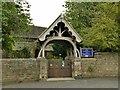 SD9749 : Carleton St Mary: lychgate by Stephen Craven